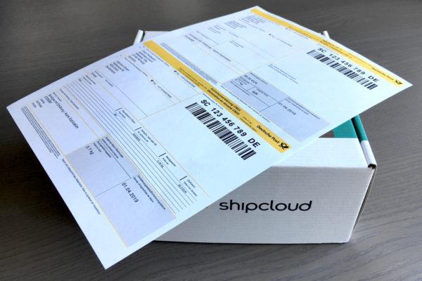 shipcloud CN23 / CP71